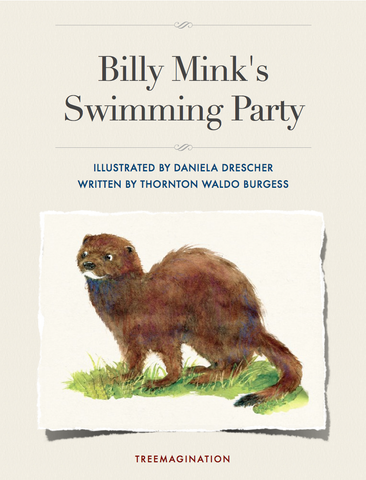 Billy Mink's Swimming Party (eBook)