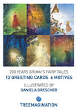 Grimm's Fairy Tales Greeting Cards small (3.5 x 5) illustrated by Daniela Drescher (Series A, Series B, Series C, Series D)