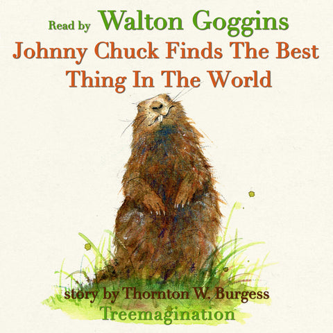Johnny Chuck Finds the Best Thing in the World read by Walton Goggins (AudioBook) (Runtime: 6:43)
