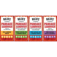 Variety Pack – Box of 12 Sandwiches, 3 of each flavor