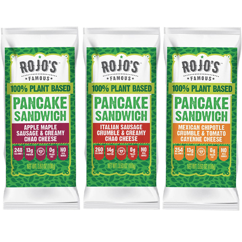 Combo Pack - Box of 12 Sandwiches, 4 of each flavor