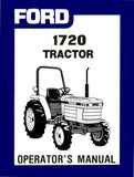 Ford 1720 Tractor - Operator's Manual - Ag Manuals - A Provider of Digital Farm Manuals - 1
