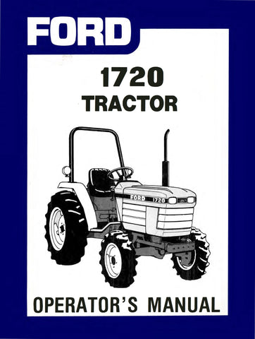 ford 1720 tractor operator s manual rh agmanuals com Ford 1720 Tractor Parts Diagram Ford 1320 Tractor Manual
