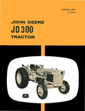 John Deere JD 300 Tractor - Parts List - Ag Manuals - A Provider of Digital Farm Manuals - 1