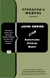 John Deere 214W Automatic Pickup Baler - Operator's Manual - Ag Manuals - A Provider of Digital Farm Manuals - 1