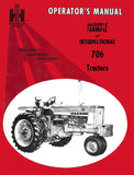 International 706 Tractors - Operator's Manual - Ag Manuals - A Provider of Digital Farm Manuals - 1