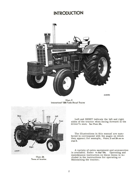 McCormick Farmall and International 1206 Turbo Diesel