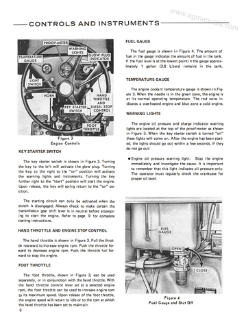 ford 1000 tractor - operator's manual  ag manuals
