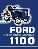 Ford 1100 Tractor - Operator's Manual - Ag Manuals - A Provider of Digital Farm Manuals - 1