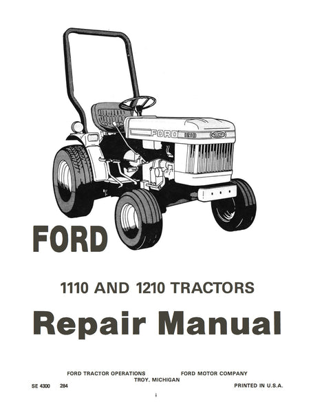 Tractor Clutch Rebuilders : Ford and tractors repair manual