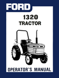 Ford 1320 Tractor - Operator's Manual - Ag Manuals - A Provider of Digital Farm Manuals - 1