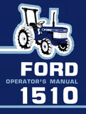 Ford 1510 Tractor - Operator's Manual - Ag Manuals - A Provider of Digital Farm Manuals - 1