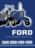 Ford 2600, 3600, 4100, 4600 Tractors - Operator's Manual - Ag Manuals - A Provider of Digital Farm Manuals - 1