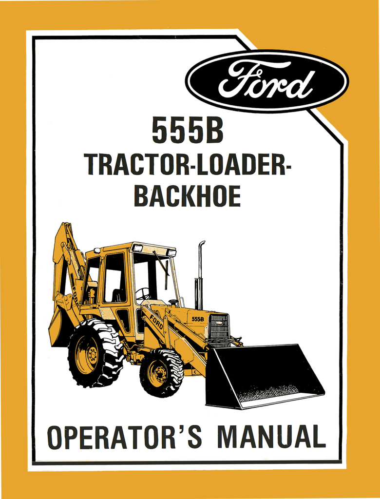 Ford 3000 Tractor Manual Approx Wiring Diagram Free Guide Loader Backhoe Operators Ag Manuals A Provider 780x1024