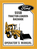 Ford 555B Tractor-Loader-Backhoe - Operator's Manual - Ag Manuals - A Provider of Digital Farm Manuals - 1