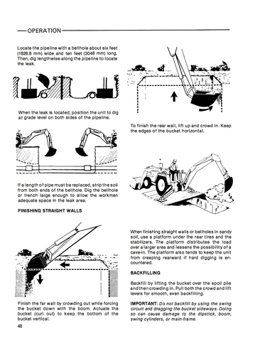 Ford 555b Tractorloaderbackhoe Operator's Manual. Ford 555b Tractorloaderbackhoe Operator's Manual Ag Manuals A Provider. Ford. Ford 555 Backhoe Front Axle Diagram At Scoala.co
