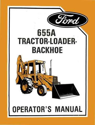 Ford 655A Tractor Loader Backhoe - Operator's Manual - Ag Manuals - A Provider of Digital Farm Manuals - 1