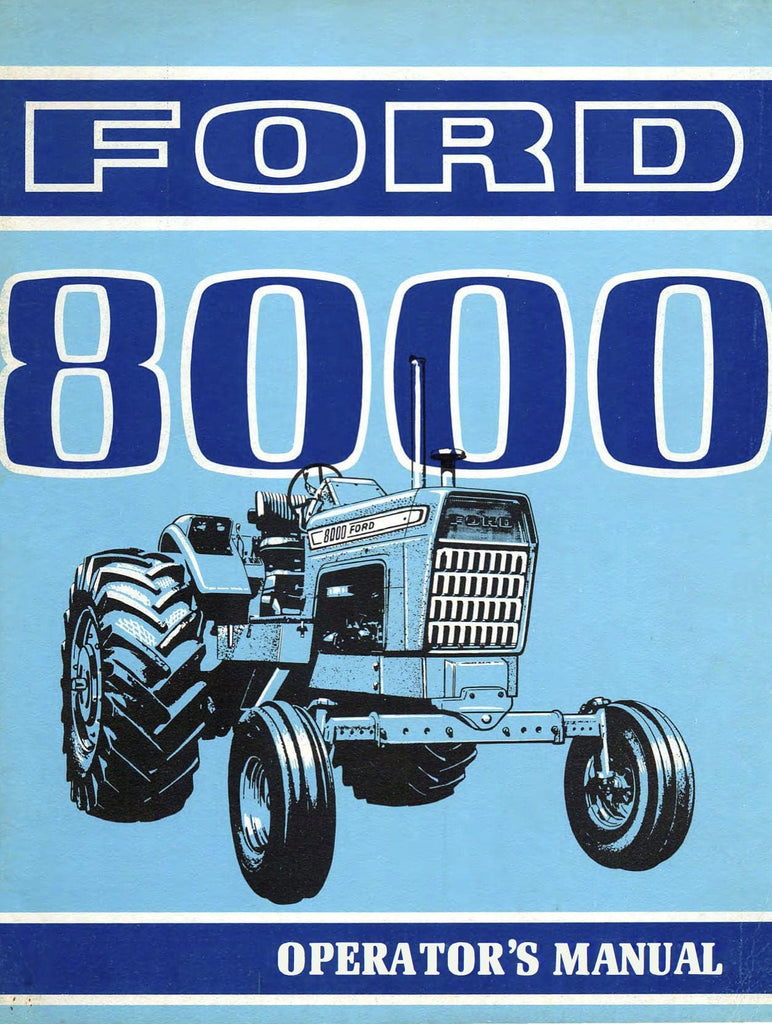 Ford 8000 Tractor Pto Diagram Electrical Wiring Diagrams Manuals Baler 545a Kit