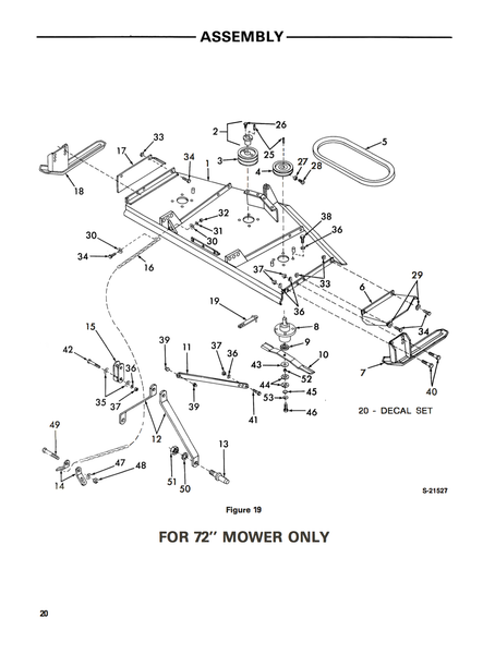 Ford Series 930-A Rear Mounted Rotary Mowers (48
