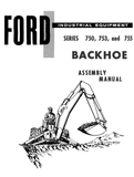 Ford Industrial 750, 753, and 755 Series Backhoe Assembly