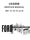 Ford Industrial 727, 730, 735, and 740 Series Loader Service Manual - Ag Manuals - A Provider of Digital Farm Manuals - 1