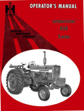 International 656 Tractors - Operator's Manual