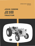 John Deere JD 300 Tractor - Operator's Manual - Ag Manuals - A Provider of Digital Farm Manuals - 1
