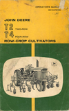 John Deere T2, Two-Row and T4 Four-Row Crop Cultivator - Operator's Manual - Ag Manuals - A Provider of Digital Farm Manuals - 1