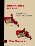 New Holland 87 Wire Tie Baler - Operator's Manual - Ag Manuals - A Provider of Digital Farm Manuals - 1