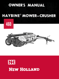 New Holland 460 Haybine Mower-Crusher - Owner's Manual - Ag Manuals - A Provider of Digital Farm Manuals - 1