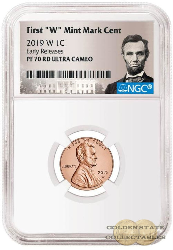 Presale- 2019 W Penny Ngc Pf70 Rd Ultra Cameo Early Releases Lincoln Portrait Label Commemorative
