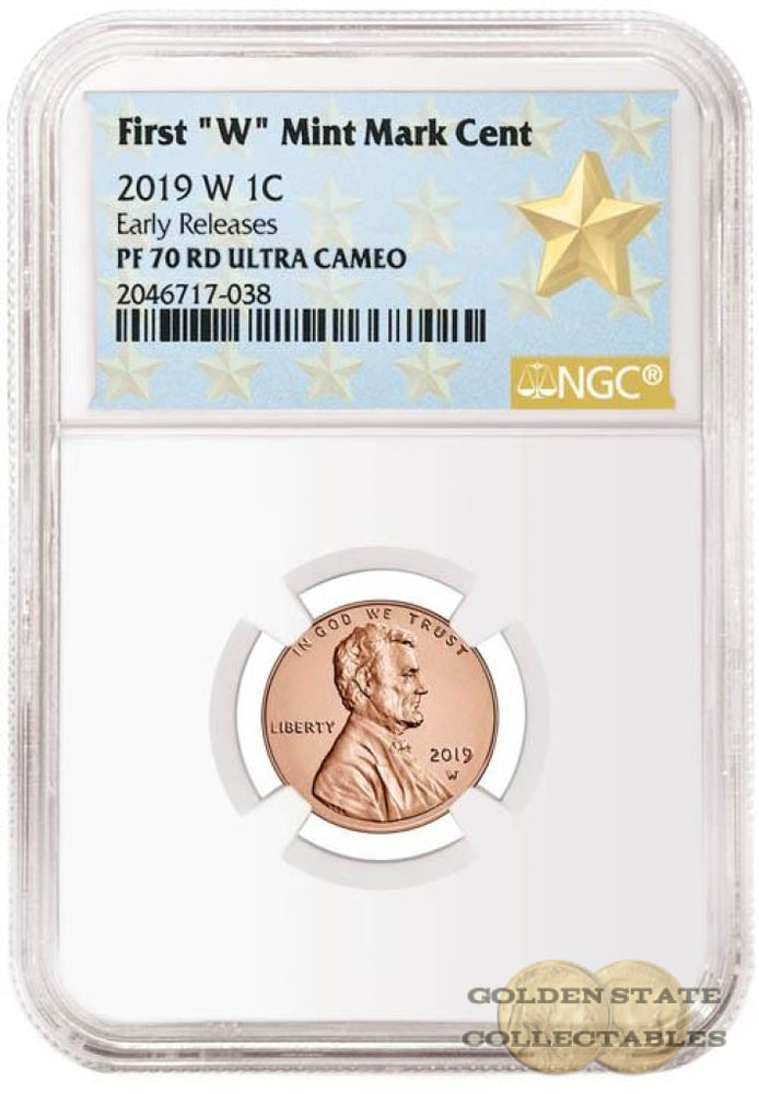 2019 W Penny NGC PF70 RD Ultra Cameo Early Releases Star Label