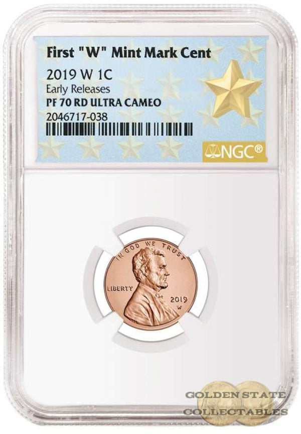 Presale- 2019 W Penny Ngc Pf70 Rd Ultra Cameo Early Releases Star Label Commemorative