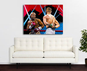 "Floyd Maywheather ""50-0"" - LIMITED EDITION"