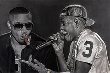 "Load image into Gallery viewer, Nas and Jay Z ""Ether vs Takeover"""