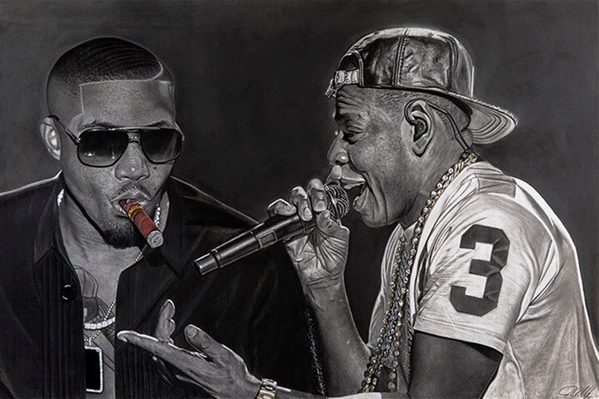 "Nas and Jay Z ""Ether vs Takeover"""