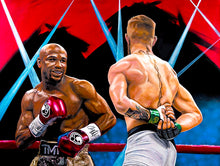 "Load image into Gallery viewer, Floyd Maywheather ""50-0"" - LIMITED EDITION"