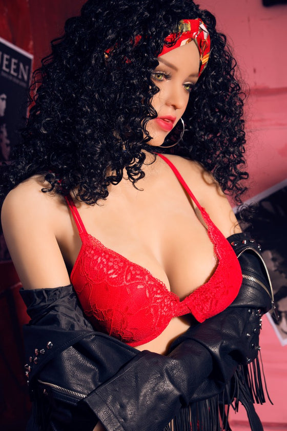 Vale: Curly Latina Brunette Sex Doll - Dollzzz.com
