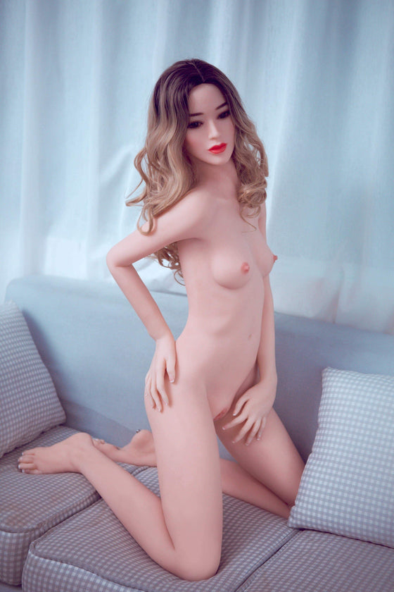 Marica: Small Breast Blonde Asian Love Doll - Dollzzz.com