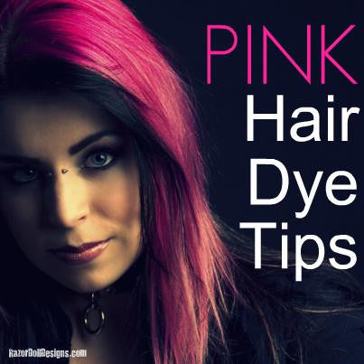 Pink Hair Dye:                  Keep Your Locks Neon Bright