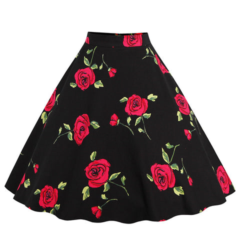 Dropping Cherries | Retro Style Skirt