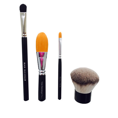 Vegan Friendly Eco Makeup Brush Set