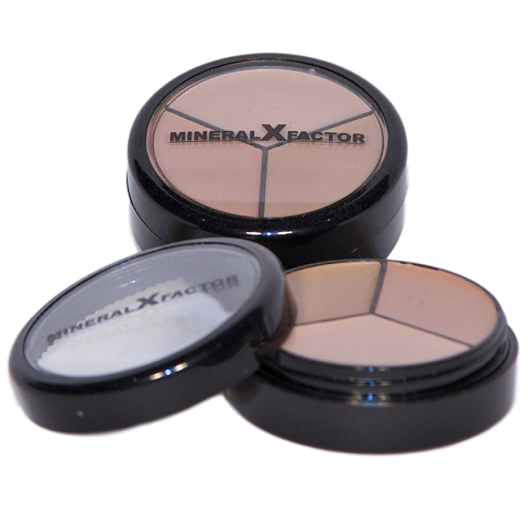Face Makeup Mineral Cream Concealer Multip Colours in Light Medium and Dark