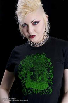 ABSINTHE - girl fitted shirt