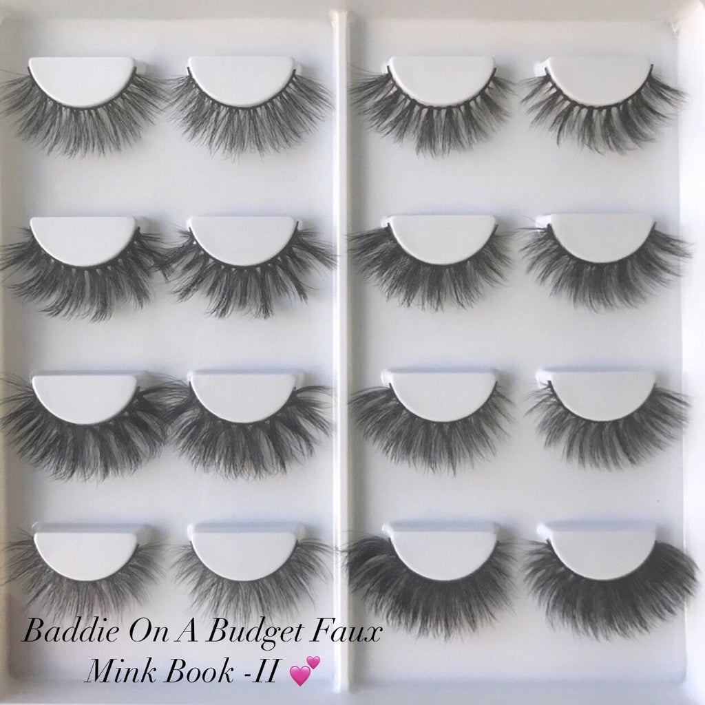 Baddie On A Budget Faux Mink Book - II - CB Lash Co.