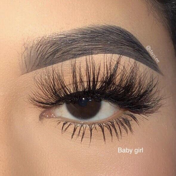 Baby Girl Luxury Mink Lashes