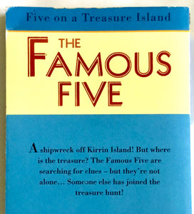 The Famous Five - Book 1 - Five on a Treasure Island - Enid Blyton - USED