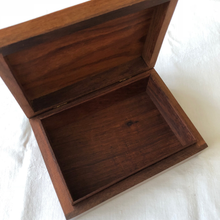 Load image into Gallery viewer, Carved Wooden Tarot Box