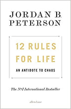 Load image into Gallery viewer, 12 Rules for Life: An Antidote to Chaos - Jordan Peterson