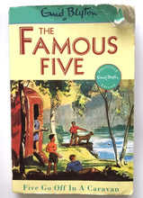 Load image into Gallery viewer, The Famous Five - Book 5 - Five Go Off In A Caravan - Enid Blyton - USED